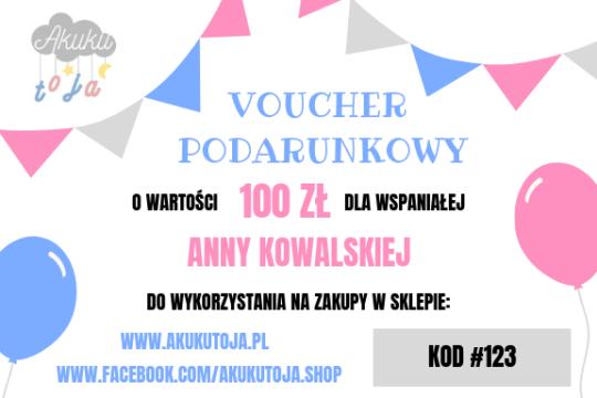 A kuku - Voucher 100 zł