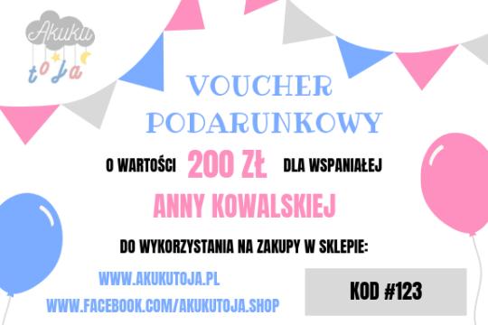 A kuku - Voucher 200 zł